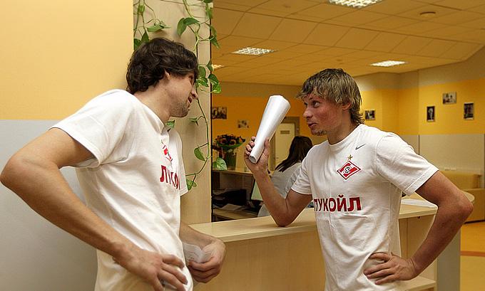 Сергей Песьяков и Евгений Макеев