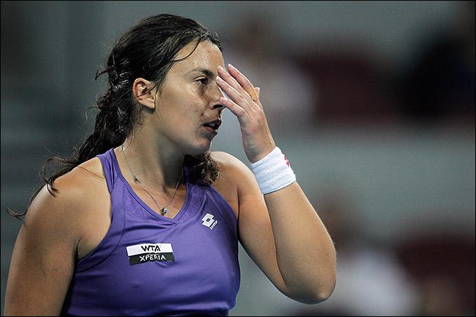 Марион не смогла сыграть за сборную из-за гриппа