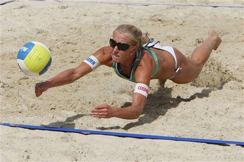 Мария Браткова на московском песке. 2009-й год