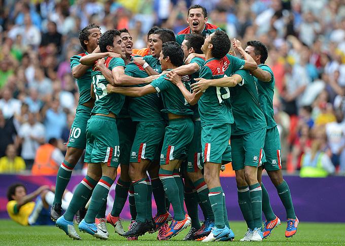 Лондон-2012. Футбол. Сборная Мексики