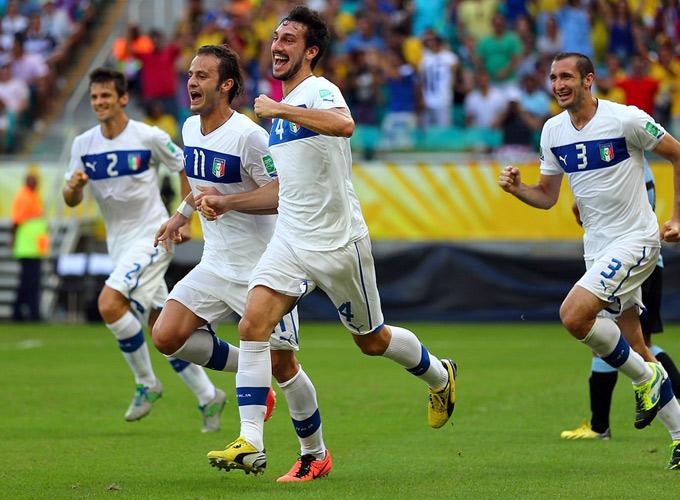 Сборная Италии стала третьей на Кубке конфедераций