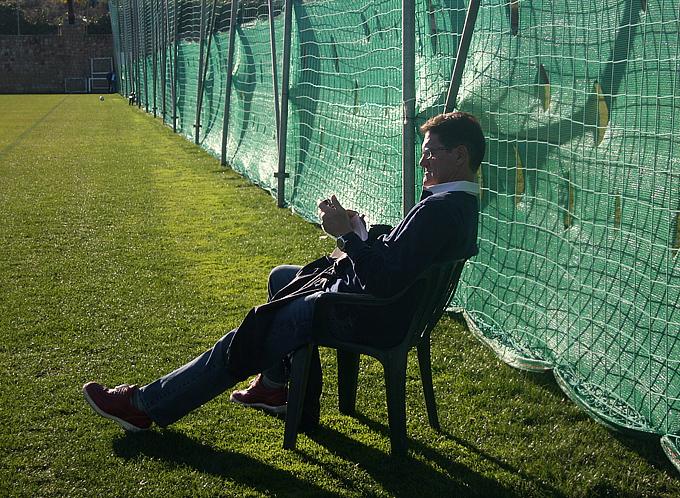 Тренер сборной России, кажется, не пропускает ни одной тренировки наших клубов в Марбелье