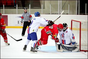 23 августа 2013 года. Электренай. Cherepanov Cup. Великобритания — Белоруссия — 3:2 (ПБ)