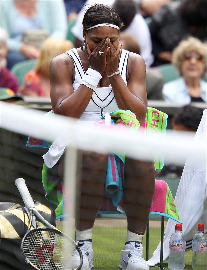 Серена Уильямс расплакалась после первой победы