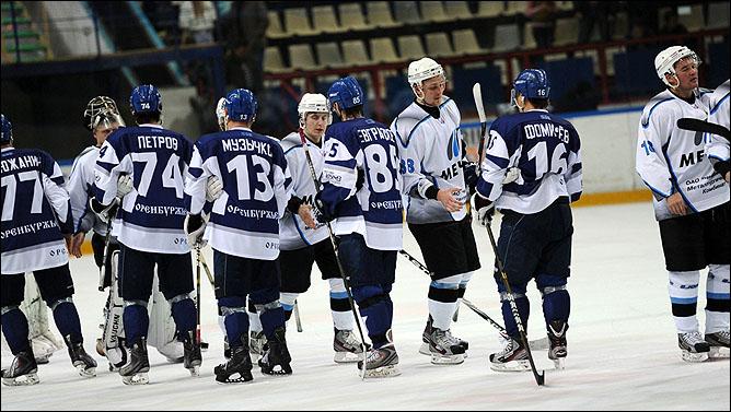 Орск. Большой хоккей
