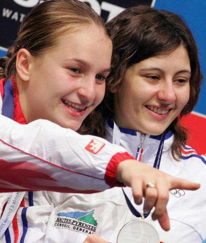 Софья Великая (слева)