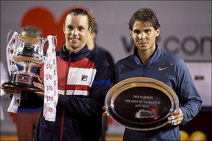 Себальос показал отличный теннис и обыграл Надаля