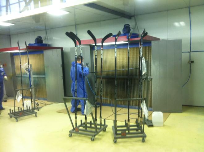 В Набережных Челнах открылся завод по производству клюшек