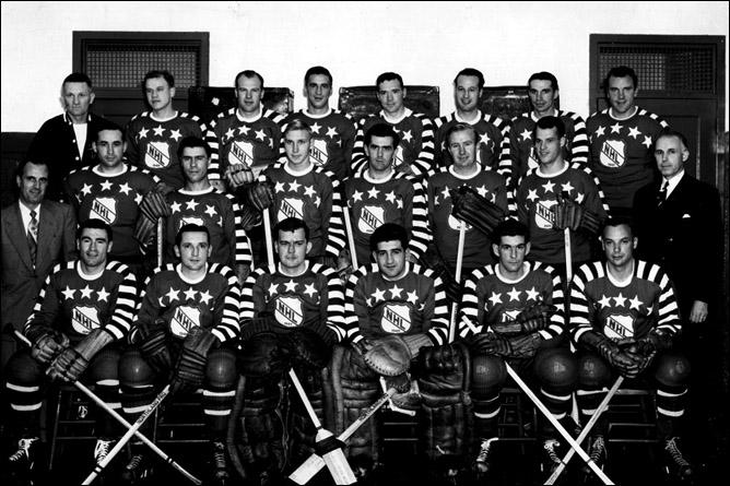 История Кубка Стэнли. Часть 57. 1948-1949. Матч всех звезд НХЛ.
