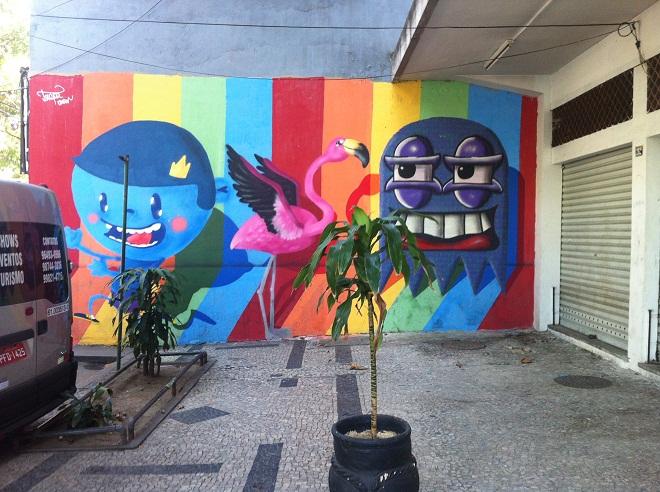 Граффити в Рио