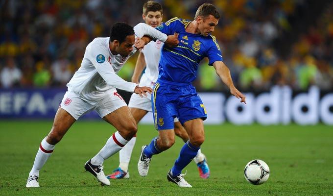 Англия — Украина