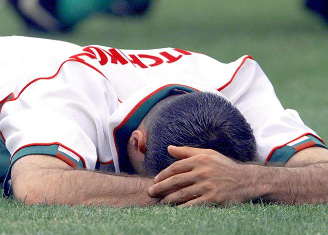 Христо Стоичков на чемпионате мира-1998