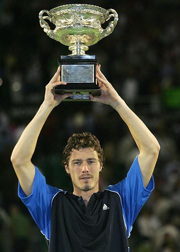 Марат Сафин на Australian Open-2005