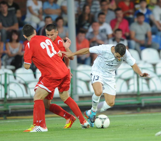 В двух играх дончане забили черногорцам 11 голов