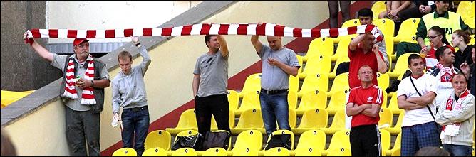 Спартаковский шарф