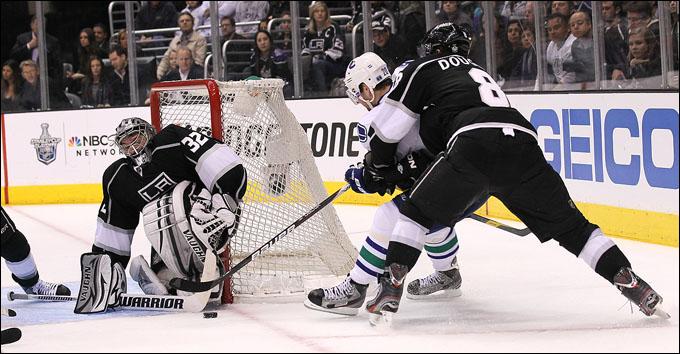 """15 апреля 2012 года. Лос-Анжелес. Плей-офф НХЛ. 1/8 финала. """"Лос-Анжелес Кингз"""" — """"Ванкувер Кэнакс"""" — 1:0"""