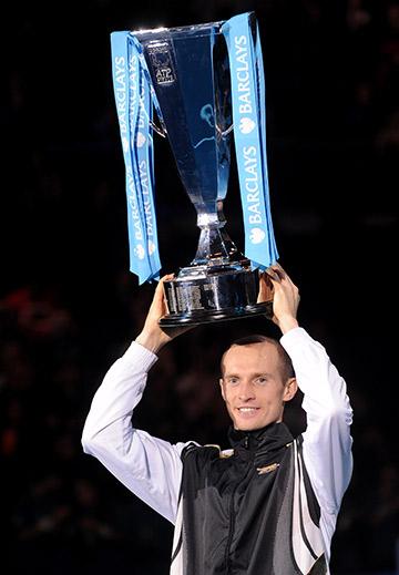 Николай Давыденко на итоговом чемпионате ATP-2009