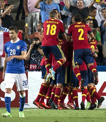 U21. ЧЕ-2013. Финал. Италия U21 – Испания U21 – 2:4