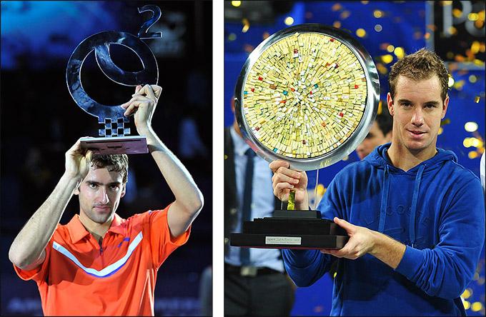 Марин и Ришар победили на домашних турнирах