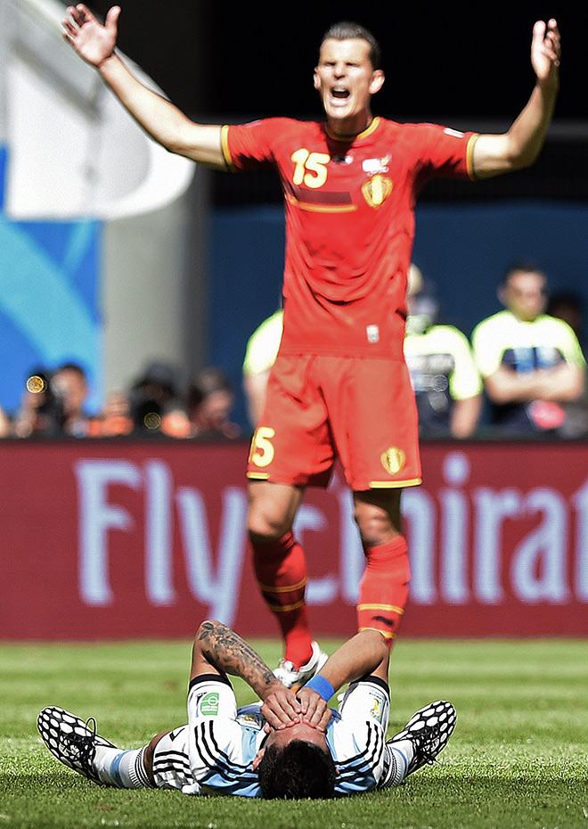 Для Анхеля ди Марии чемпионат мира закончен