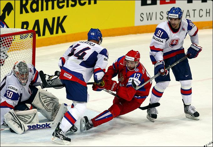 20 мая 2012 года. Хельсинки. Россия — Словакия. Павел Дацюк