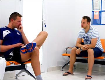 Кристиан Кудроч и Юлиус Гудачек