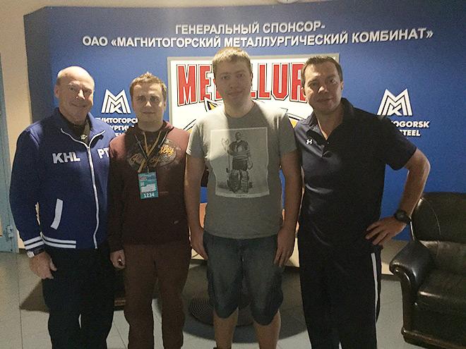 Майк Кинэн, Павел Панышев, Дмитрий Ерыкалов и Илья Воробьёв