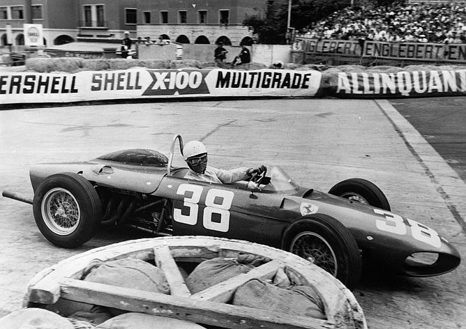 Фил Хилл на Гран-при Монако 1961 года