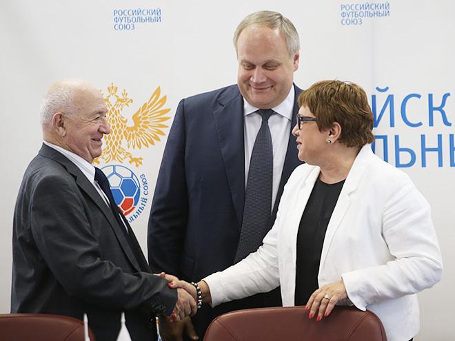 Никита Симонян, Юрий Нагорных и Ольга Смородская