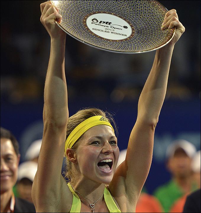 Мария Кириленко наконец-то победила в одиночном разряде