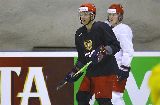 Никита Зайцев уже освоился в сборной