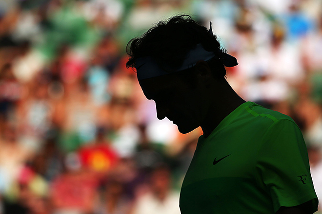 Федерер сенсационно проиграл Сеппи в 3-м круге