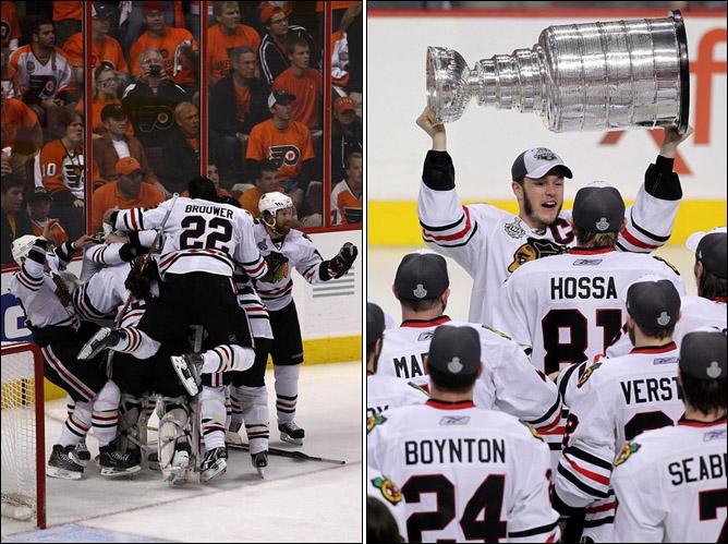 НХЛ. Финал. Чикаго - Филадельфия. Фото 03.