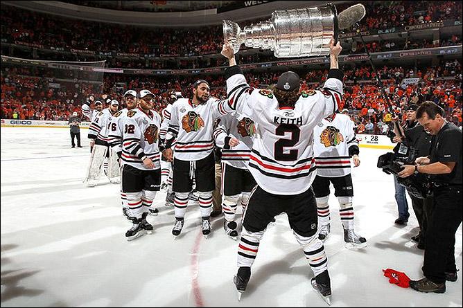 НХЛ. Финал. Чикаго - Филадельфия. Фото 04.