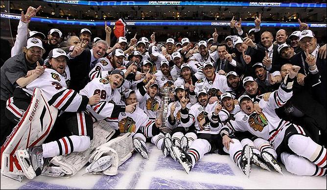 НХЛ. Финал. Чикаго - Филадельфия. Фото 06.
