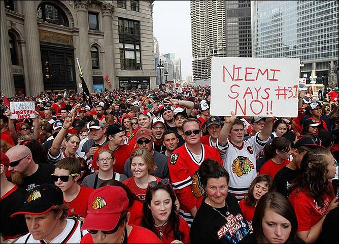 НХЛ. Финал. Чикаго - Филадельфия. Фото 08.
