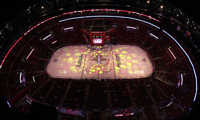 "22 апреля 2012 года. Санрайз. Плей-офф НХЛ. 1/8 финала. ""Флорида Пантерз"" — ""Нью-Джерси Девилз"" — 3:0"