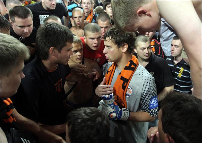 Рыбка пообещал фанатам спуститься в шахту.