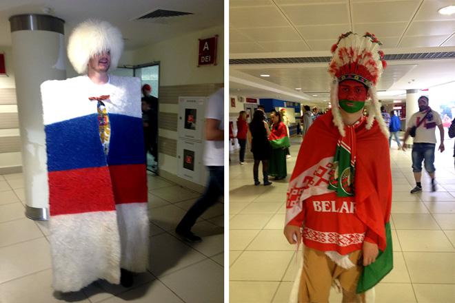 Россия против Белоруссия