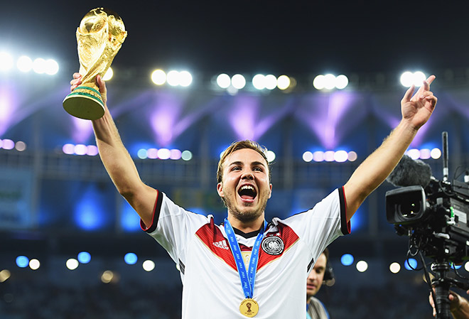 Марио Гётце — новый немецкий футбольный талант