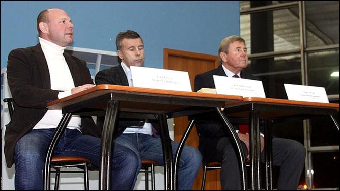 Андрей Галайда, Игорь Жилинский и Геннадий Цыгуров