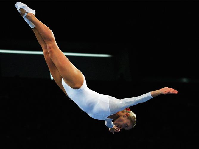 Покорительница олимпийского Сиднея Ирина Караваева до сих пор выступает на самом высоком уровне