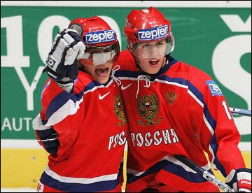 Александр Овечкир и Евгений Малкин