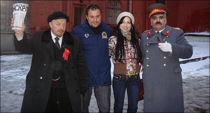 Москва, Красная площадь…