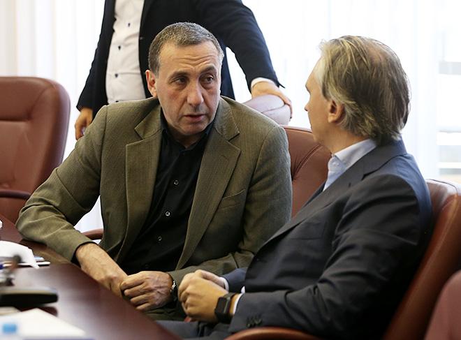 Евгений Гинер и Александр Дюков