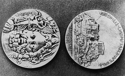 Медали для Игр-1896 лично делал сам Пабло Пикассо