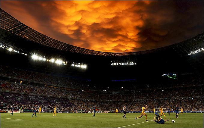 Футбол. Чемпионат Европы. Польша, Украина