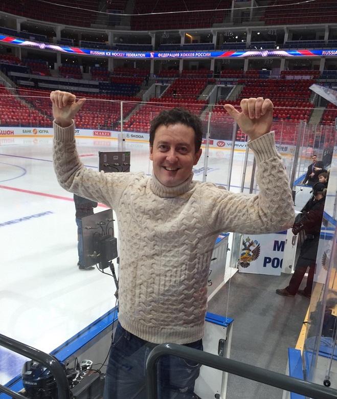 Станислав Ярушин — ведущий на Кубке Первого канала