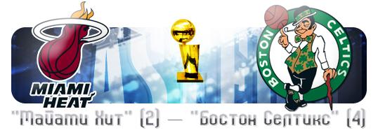НБА. Плей-офф. Финал. Восток