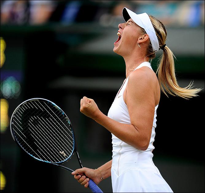 Мария прошла во вторую неделю турнира